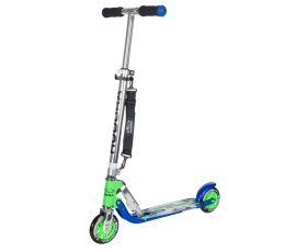 Самокат HUDORA Big Wheel 125 blue green (14753)