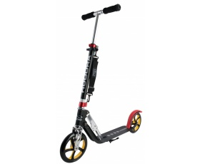 Самокат HUDORA Big Wheel RX-Pro 205 black/red/gold (14759)
