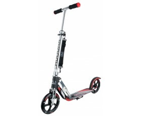 Самокат HUDORA Big Wheel RX-Pro 205 black/red (14758)