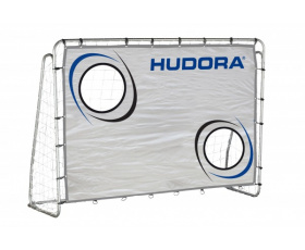 Футбольные ворота HUDORA Soccergoal Trainer with target shot (76920)