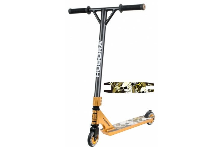 Самокат HUDORA Stunt Scooter XR-25 gold (14027) фото 1