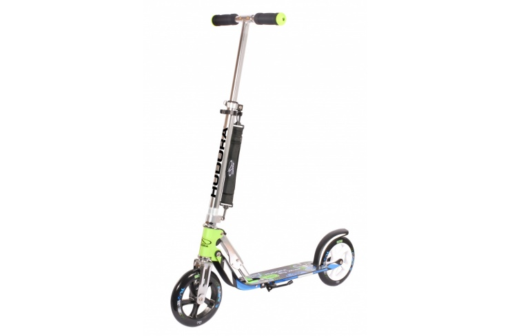 Самокат HUDORA Big Wheel 205 green/blue (14750) фото 1